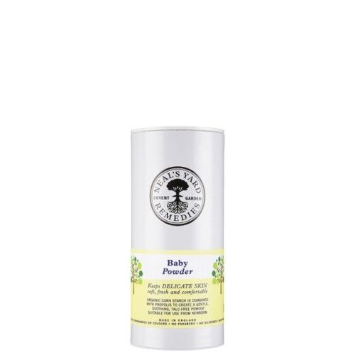 NYR Organic Baby Powder $8.50  A delicate, light, fine and simple powder for babies - and anyone with delicate skin. Made with organic maize starch, making it more beneficial to the skin, and naturally preserved with propolis. Our powders do not contain mineral talc. https://us.nyrorganic.com/shop/everygoodthing/area/shop-online/category/mother-and-baby/product/1215/baby-powder-2-65-oz/