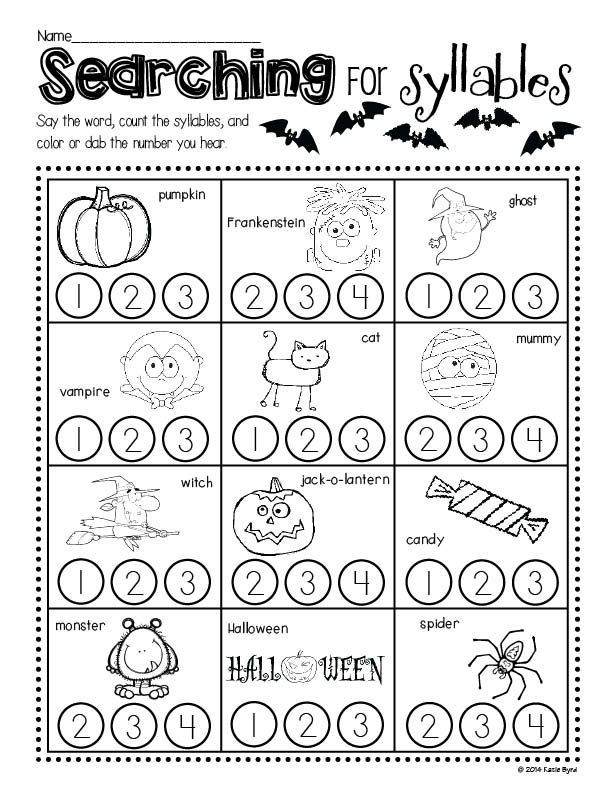 Print and Go! Halloween Math and Literacy ~ Sweet and not so spooky practice pages for kindergarten kids!  Perfect for morning work, homework, or centers.  Made to save you ink and time!  Happy Halloween! $