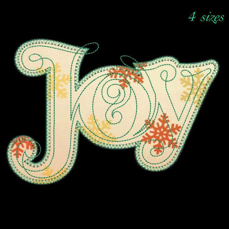 Joy machine embroidery design,Christmas tree design,digital download,Christmas tree pattern,Christmas tree pattern, by GretaembroideryShop on Etsy