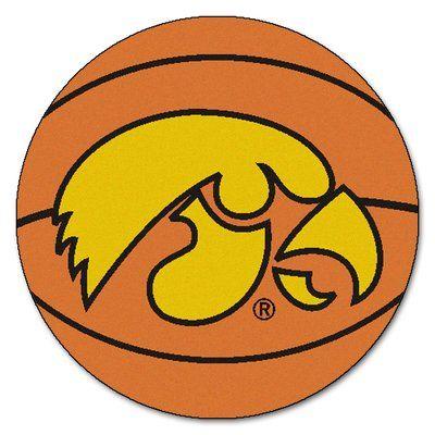 FANMATS NCAA University of Iowa Basketball Mat