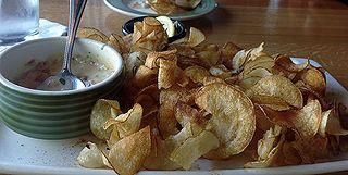 Applebee's Potato Twisters copycat recipe.  http://www.copycatrecipeguide.com/How_to_Make_Applebee%27s_Pico_de_Gallo