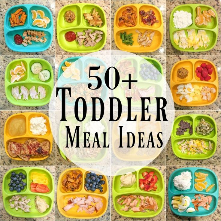 50+ Healthy Toddler Meal Ideas