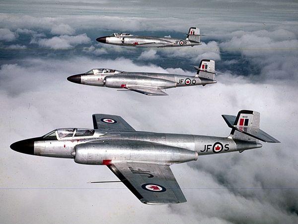 """RCAF CF-100 """"Canuck"""""""