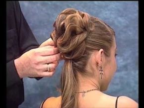 The coolest technique for an updo EVER!  ▶ Penteado Coque - Rede Invisivel - YouTube