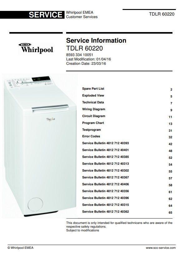 Whirlpool Tdlr 60220 Washing Machine Service Manual Washing Machine Service Maintenance Jobs Whirlpool Washing Machine