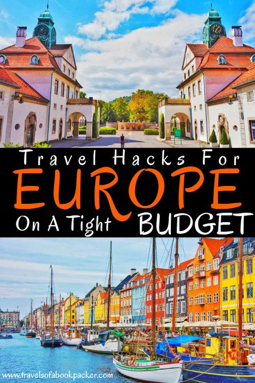 Travelling Europe on a Price range