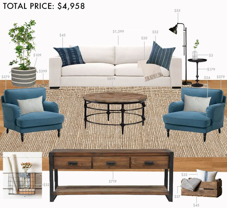 17 best ideas about budget living rooms on pinterest - Modern living room design on a budget ...