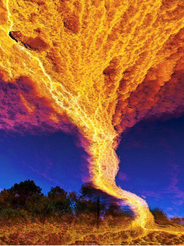 """Fotos de Un """"tornado"""" de fuego en España - Yahoo! Noticias"""