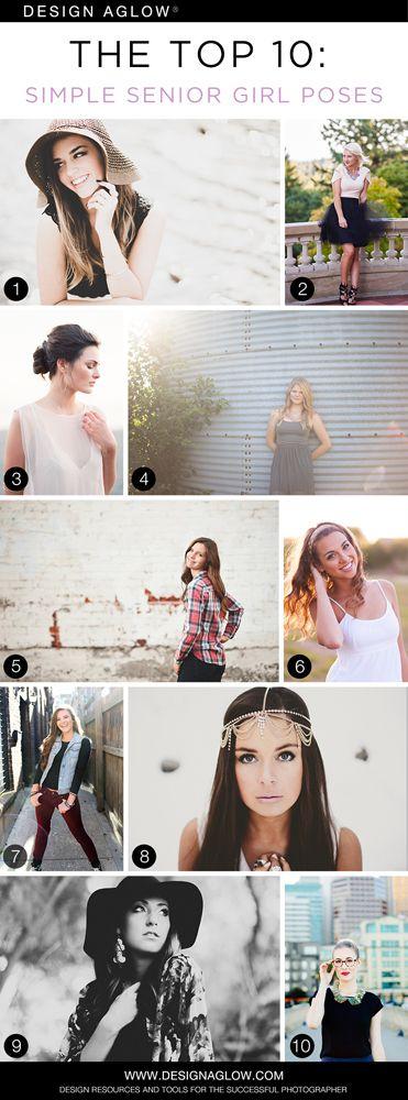 Top 10 Simple Senior Girl Poses
