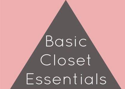 Basic Closet - Nouriso Blog