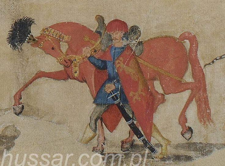 Koń husarski cz. II - wizerunki koni i husarzy
