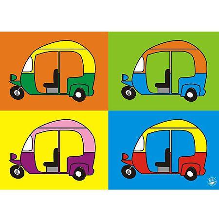 Auto Rickshaw  Tempo Poster @ Memoirs