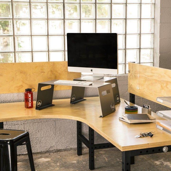 The 25 Best Desk Riser Ideas On Pinterest Computer Desk