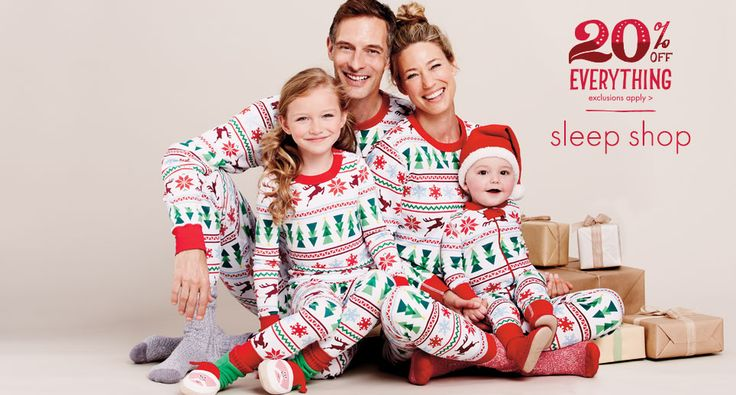 This is my favorite Website to buy matching family PJ's. Every year they have the best selection! Wouldn't they make a cute family photo?!