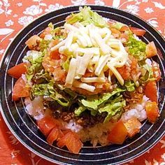 沖縄の味★タコライス レシピ・作り方