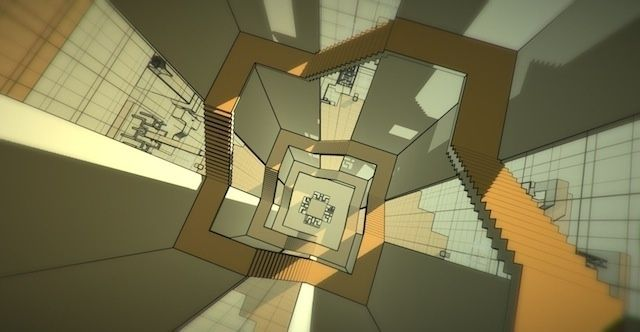 An Artist Is Turning MC Escher's 'Relativity' into a Video Game   The Creators Project