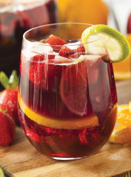 Red sangria 2 bottles barefoot rich red blend 2 c e j for Sangria recipe red wine triple sec
