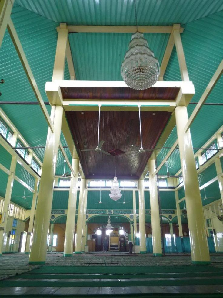 Masjid Sultan Syarif Abdurrahman Alkadrie ~ Kekunaan