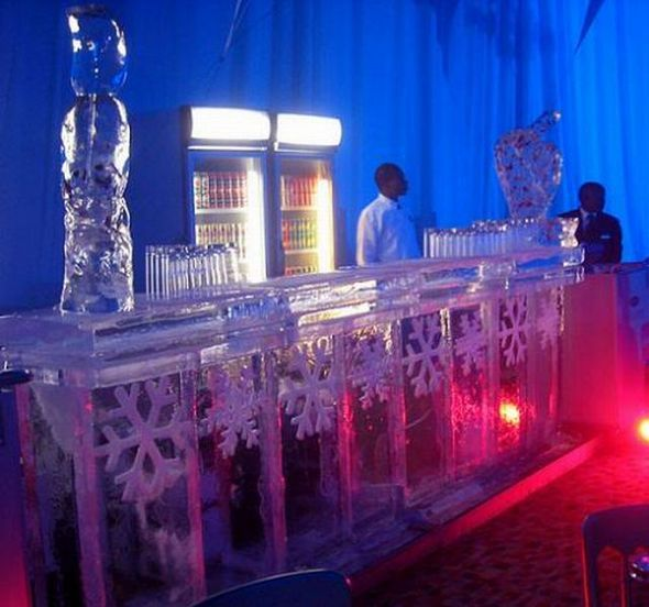 Snowflake Ice Bar