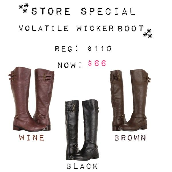 Store Special! Come on down and pick out your perfect pair of fall boots with our fantastic sale. These tall riding boots are on for a whopping 40% off!! Available from November 13th to November 18th at Quintessential located Downtown Nanaimo.