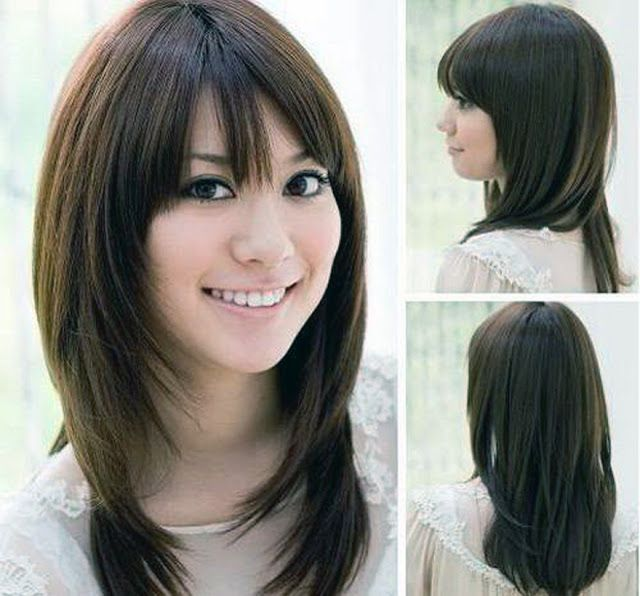 Hairstyles For Round Faces-Short Hairstyle for Oval Faces ...