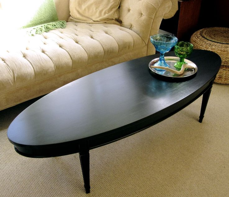Large Oval Wood Coffee Table: Best 25+ Oval Coffee Tables Ideas Only On Pinterest