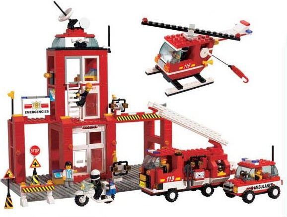 Sluban Пожарная команда Пожарная часть 38-3100