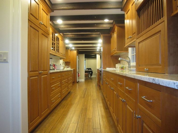77 best galley kitchen ideas images on pinterest kitchen for Perfect galley kitchen