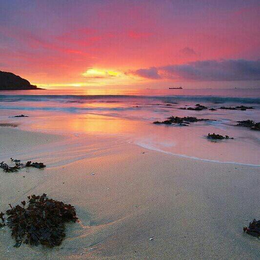 Cornish sunset.