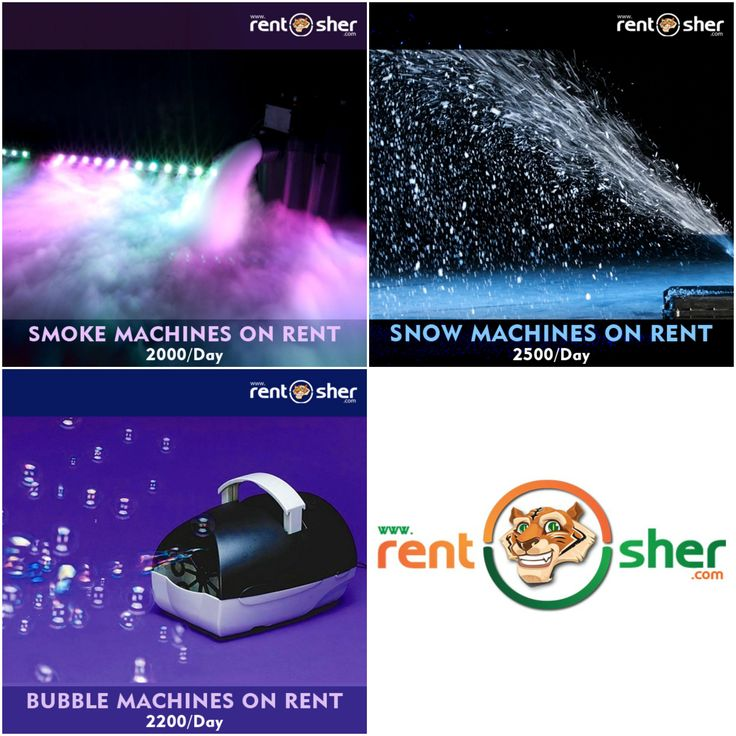 Create a grand and attractive look to your #party/#events through #Snow, #Smoke and #Bubble Machines from RentSher's wide range of event rentals at affordable cost with delivery and pickup across #Bangalore & #Delhi. Visit us to find more details about event rentals. Bangalore: http://bit.ly/2ixMy5d Delhi: http://bit.ly/2iD6wyd