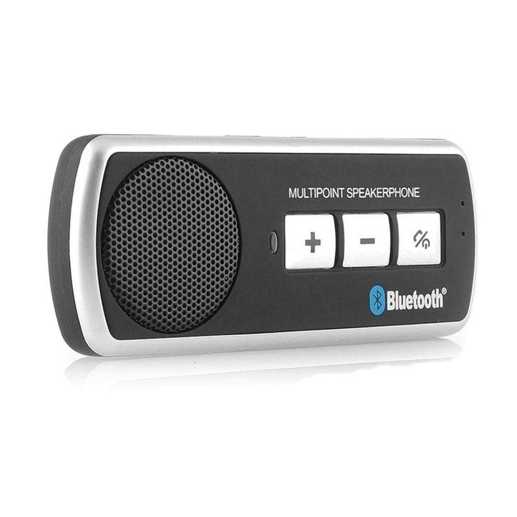 Bluetooth Car Hands Free Speaker Phone Kit Multipoint
