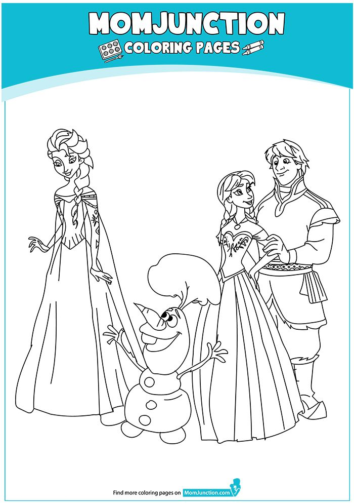 Print Coloring Image Momjunction Frozen Coloring Pages Princess Coloring Pages Coloring Pages