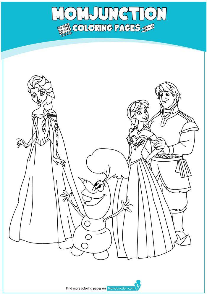 Print Coloring Image Momjunction Frozen Coloring Pages Princess Coloring Pages Coloring Pages