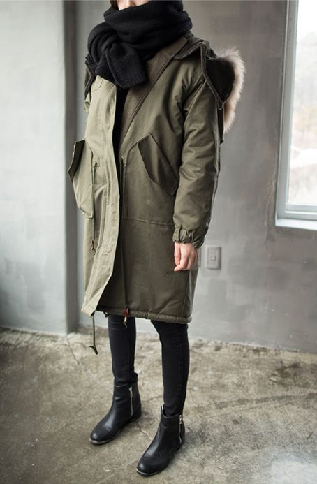 I need it: warm winter coat. More