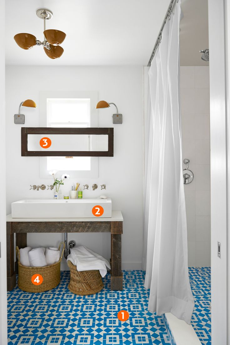 Don't like the tile, but I love the way that this all flows right into the shower-first floor?