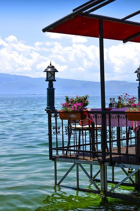 Skopje by Ohrid Lake, Macedonia
