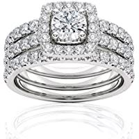 1 Carat Diamond Engagement Ring Igi Certified 14 Karat White Gold Diamond Ring For Women Diamond Engagement Ring By In 2020 Women Diamond White Gold Diamonds Jewelry