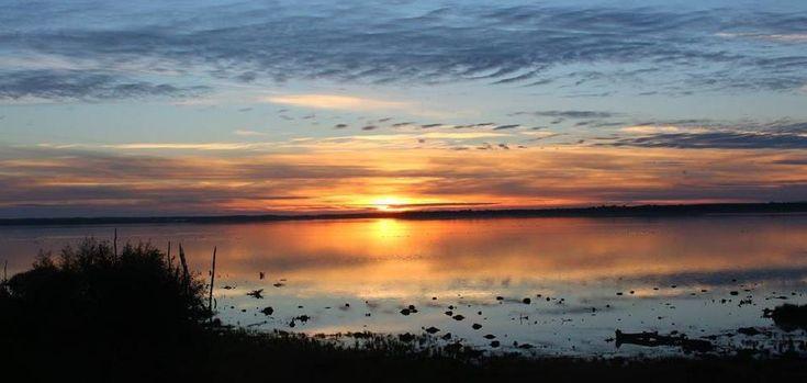 Another sunset at lake Hornborga by susannemkarlsson