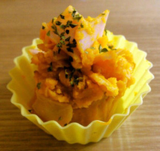 電子レンジをつかって簡単にかぼちゃサラダを作っちゃおう!ボリュームも栄養も満点なお助けレシピです。