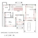 JASMIN PLAN singco engineering dafodil model house | Advertising with us | නිවාස සැලසුම් හා ඉංජිනේරු සහය Create floor plans, house plans and home plans online with houseplansrilanka.com Best Construction Company in Sri Lanka | Comercial Building