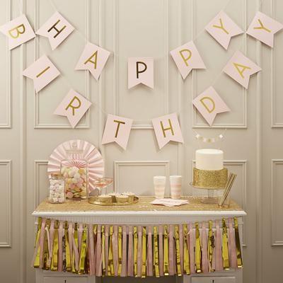 carteles de feliz cumpleanos Happy Birthday ginger ray
