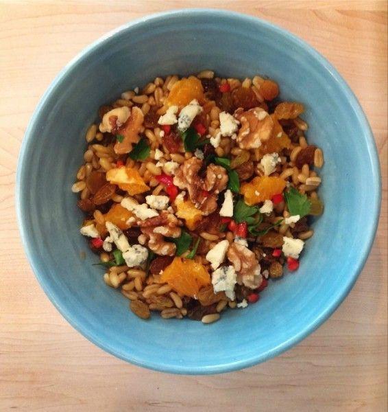 Recipe Details | KAMUT® Brand Khorasan Wheat, Orange, Walnut and Blue Cheese Salad | Kamut Brand® Khorasan Wheat