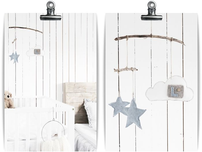 perfect mobile for over changing table.  blog is adorable too, wish i could read it though!