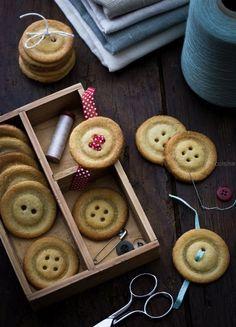 Biscuits en forme de boutons | Jujube en cuisine