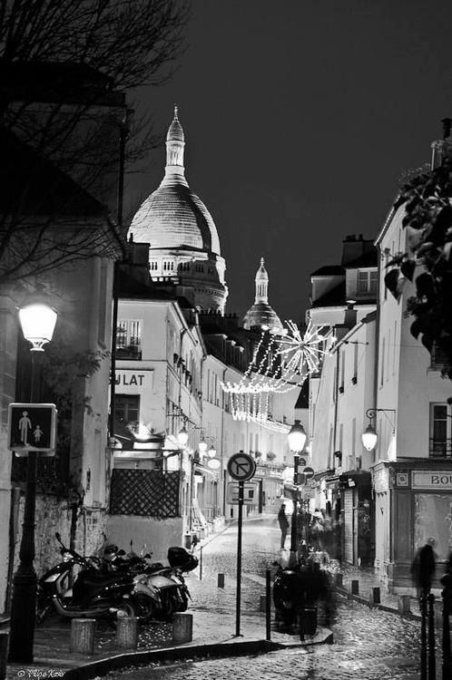 Sacre Coeur.  When I was in Paris, our school group hung out here a lot, especially on the base of the cathedral steps.