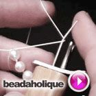 Tutorial - Videos: How to Use the EZ Knotter Bead and Pearl Knotting Tool | Beadaholique