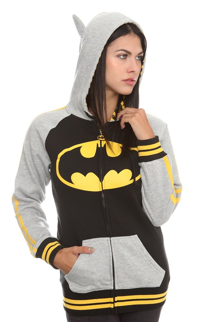 Even if it's a girl's jacket, I still want it.   Batman jacket with ears