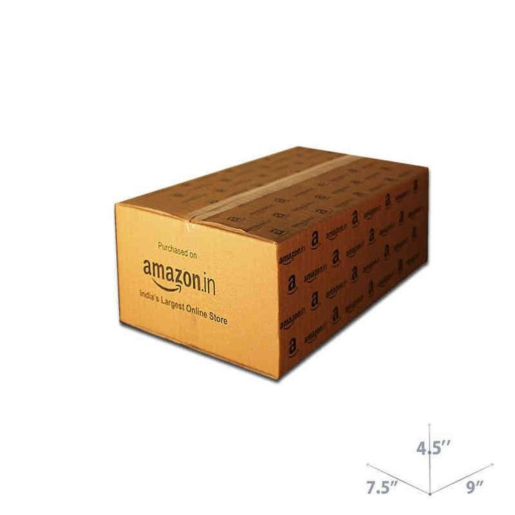 Buy 9 x 7.5 x 4.5 Amazon Branded Corrugated Box for E-commerce Packaging India! Lowest Price + Free Shipping!
