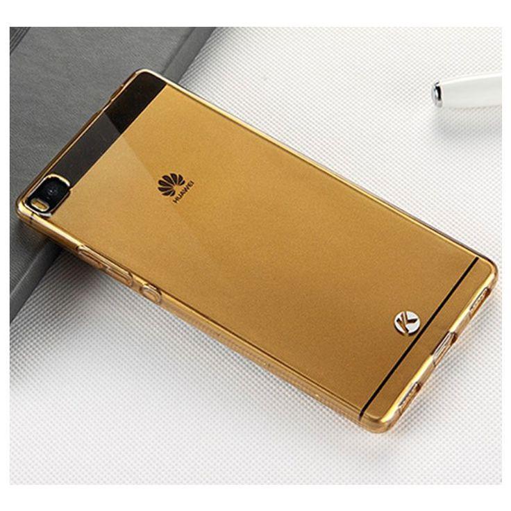Koop Huawei P8 Kalaideng Air TPU Case Transparant Goud