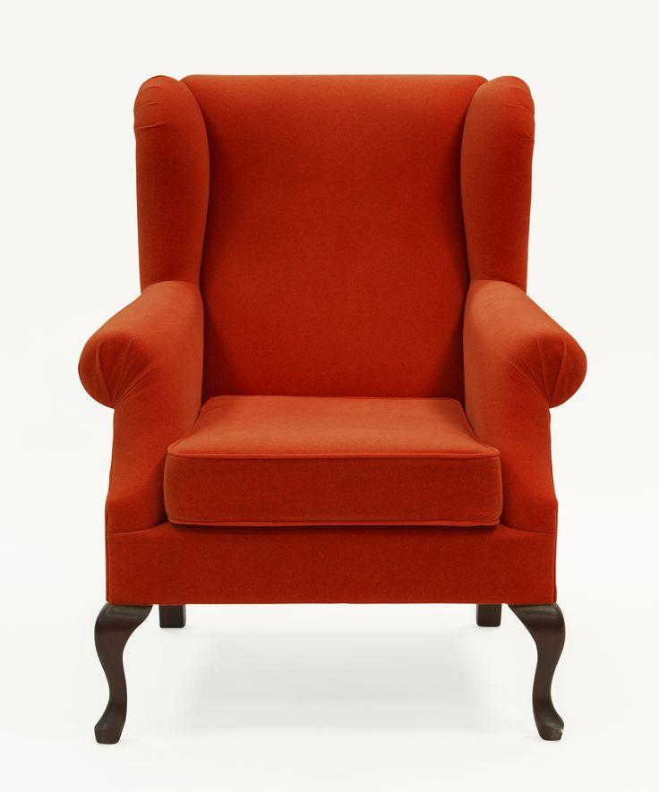 ARMCHAIR ROLAND BRICK RED / FOTEL ROLAND W KOLORZE BRICK RED  #komeb #fotel #wnętrze #aranżacja #urządzanie #inspiracje #meble #projekt #pomysły #pomysł #design #room #home #red #kreatywne #nowoczesne #wypoczynek #HomeDecor #furniture #design #interior #armchair #chair #livingroom